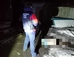 Женщина замерзла насмерть на пороге своего дома