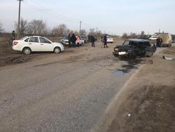 В Энгельсском районе произошло ДТП: один погиб, двое в больнице