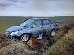 Погиб водитель съехавшей с трассы Гранты