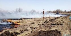 Пенсионер сжигал мусор и едва не спалил село