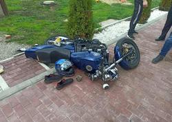 Мотоцикл съехал с дороги и опрокинулся, водитель погиб