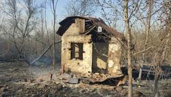 На Сокурском тракте пожар уничтожил 12 деревянных построек
