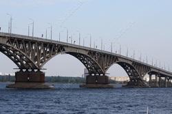 Объявлен аукцион на ремонт троллейбусной сети на мосту через Волгу