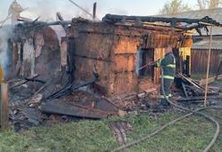Мужчина погиб на пожаре из-за неосторожного курения