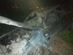 Погиб водитель съехавшей с дороги Дэу