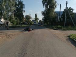 Подросток на мотороллере попал в ДТП