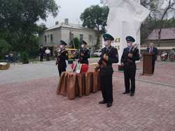 В Дергачах перезахоронили останки участника Великой Отечественной войны