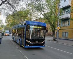 До конца лета в Саратов поступят 24 троллейбуса Адмирал