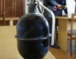 На заброшенном дачном участке обнаружили гранату