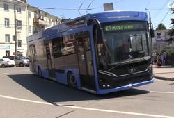 В Саратове продолжаются испытания троллейбусов Адмирал