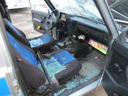 Разбившего полицейский автомобиль дебошира отправят в психбольницу