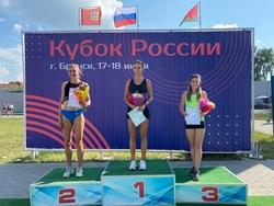Бегунья завоевала Кубок России