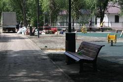Парк Гагарина обещают закончить на этой неделе