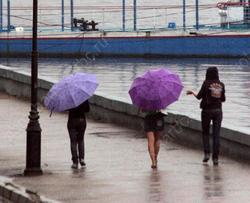 Осень начинается тепло, возможен дождь