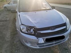 Дорожный рабочий попал под машину на трассе