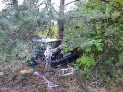 Женщина погибла на трассе после съезда машины в кювет
