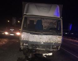 Двое погибли в лобовом столкновении с грузовиком