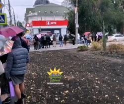 Горожане жалуются на очереди на маршрутку