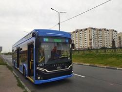 На троллейбусе теперь можно доехать до Солнечного-2