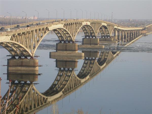 Картинки саратов мост зимой