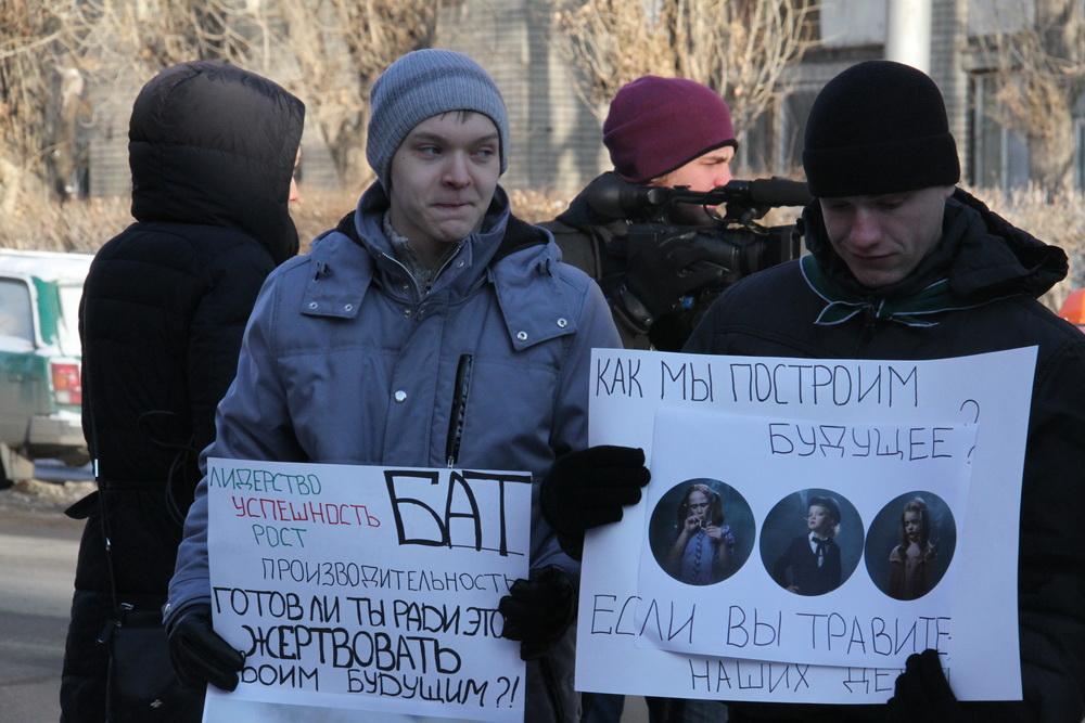 Активисты потребовали перенести табачную фабрику за пределы Саратова