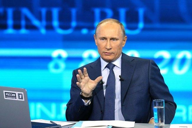 """Владимир Путин: """"Надеюсь, мне не придется воспользоваться правом на ввод войск в Украину"""""""