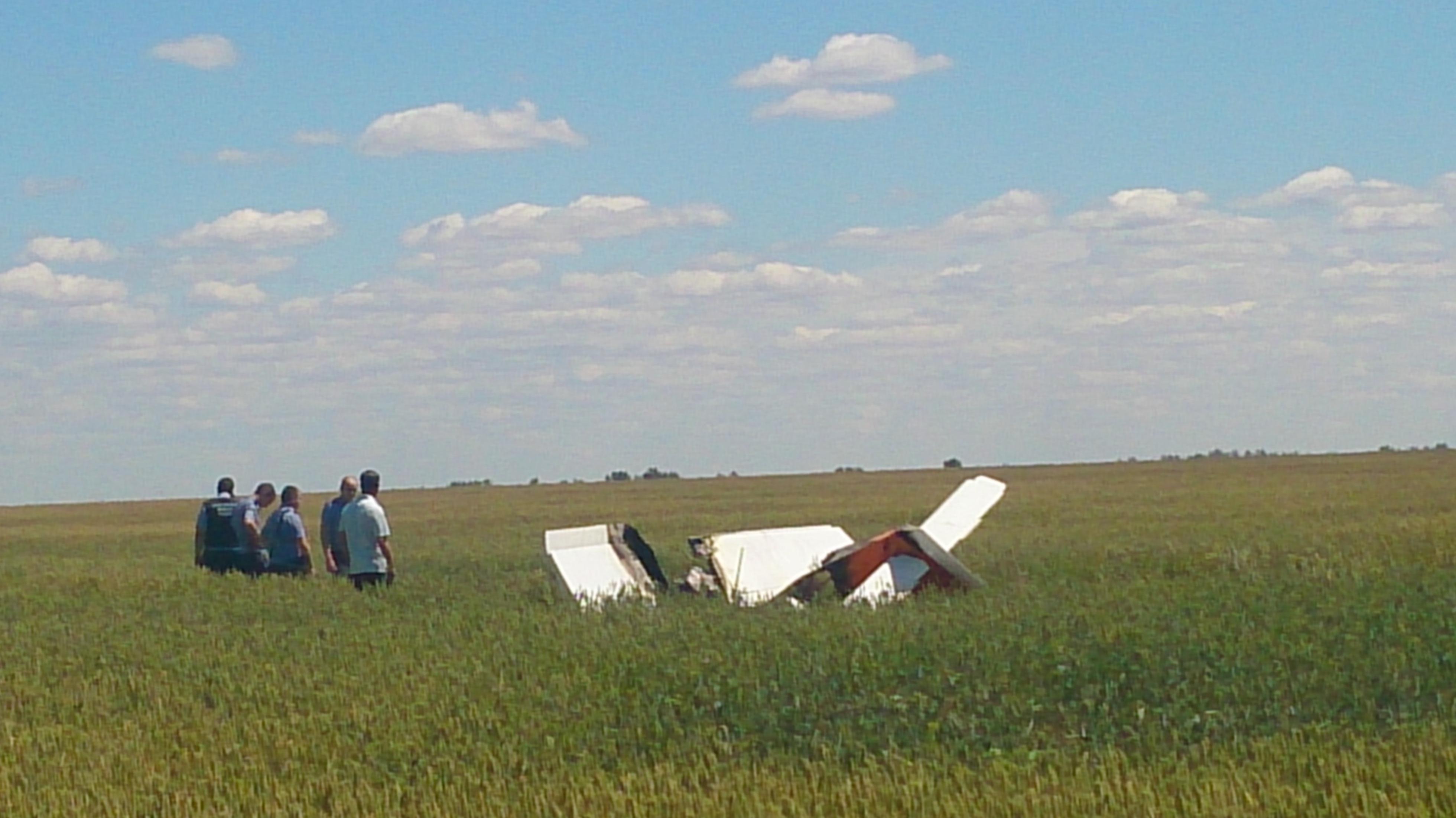 Крушение СП-30 в Ровенском районе. Самолет принадлежал пилоту