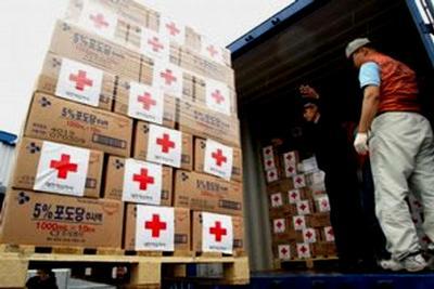 Один из лидеров Луганской народной республики просит жителей области оказать гуманитарную помощь