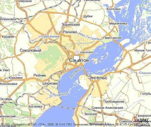 Яндекс обновил карты Саратова: