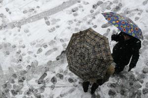 """""""Песочный"""" снег вслед за Саратовской пройдет в Тамбовской области"""