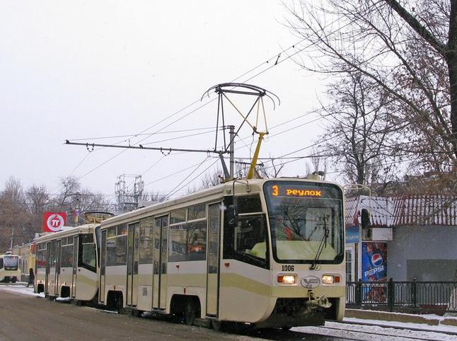 С 10 до 16 часов 7 сентября закрывается движение трамваев по ул