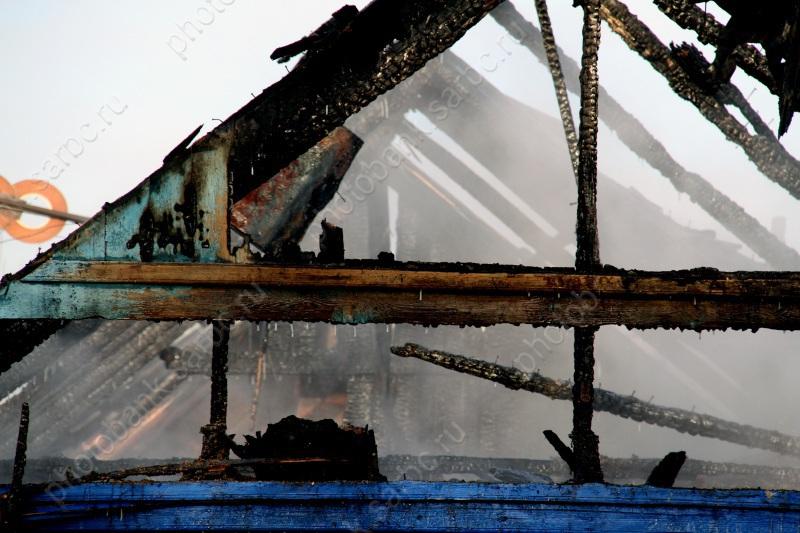 На пожаре в Ртищево погиб четырехлетний ребенок