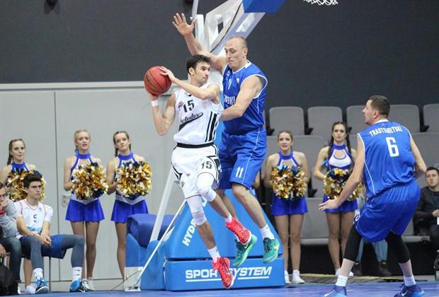 Баскетболисты «Цмоки-Минска» победили «Автодор» вматче Единой лиги ВТБ