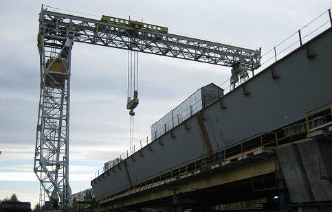 Мост через судоходный канал вБалакове будет сдан вканун Нового года
