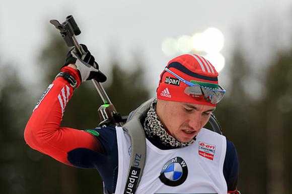 Биатлонист Александр Логинов вернулся после двухлетней дисквалификации