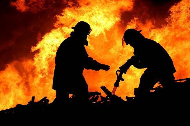 Напожаре в личном доме умер пенсионер