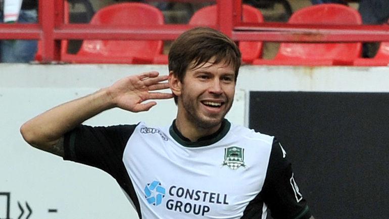 Федор Смолов— лучший футболист года в РФ