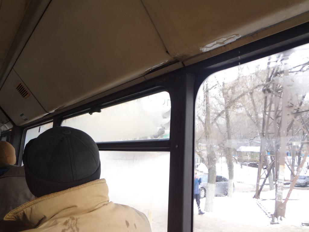 Пассажиров 90-го автобуса освежил холодный душ