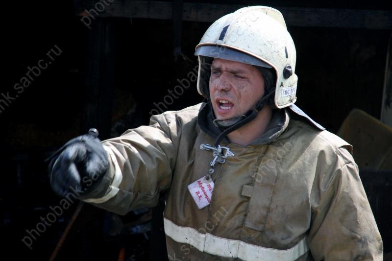 На Московской горит дом