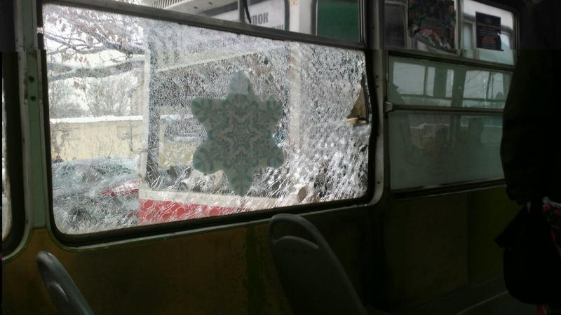 Вцентре Саратова столкнулись два трамвая