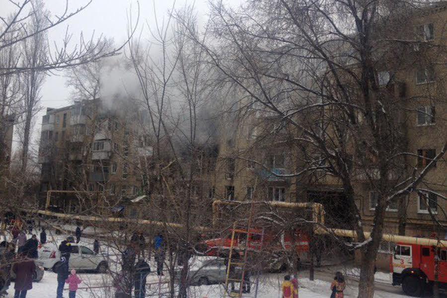 ВСаратове скончался пострадавший при взрыве газа вмногоэтажке мужчина