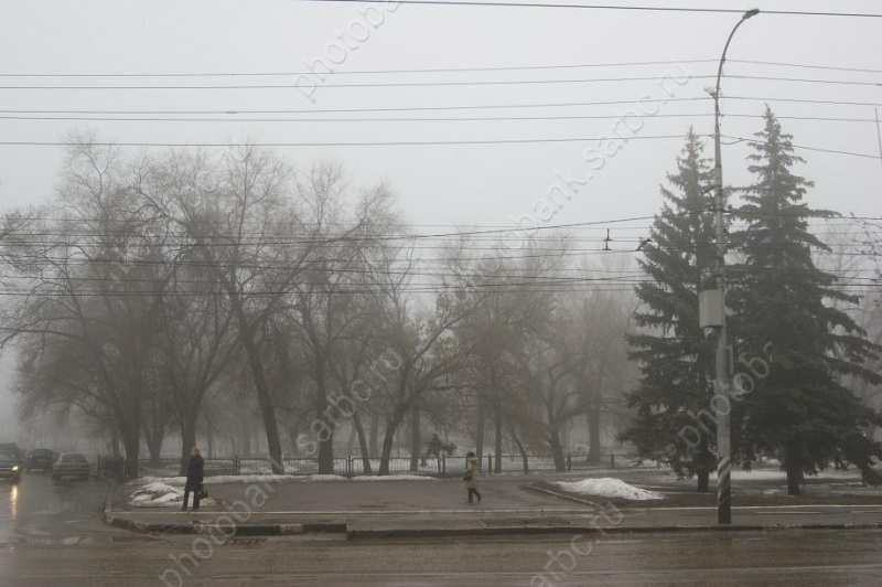 ВСаратове предполагается мокрый снег исильный ветер