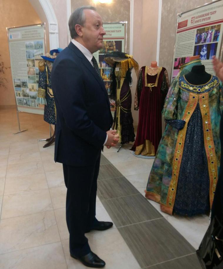 Радаев объявил  опроекте «Саратовская область— культурный центр России»