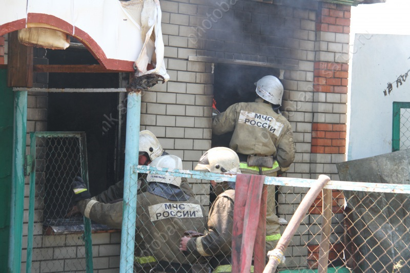 Пожар вмини-отеле. Женщина скончалась в клинике