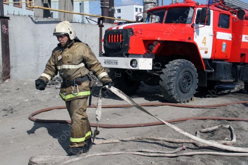 После пожара в личном доме отправлены вмедучереждение двое мужчин