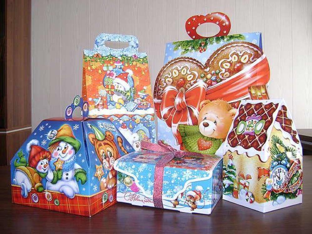 Детский подарки на новый год
