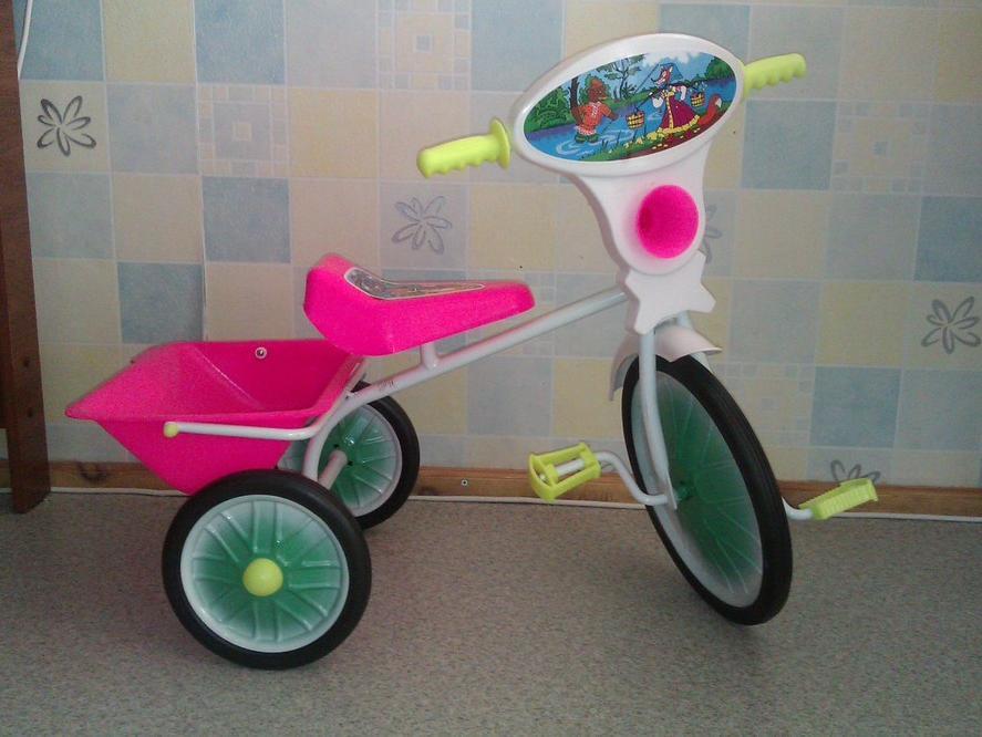 Как сделать взрослый 3-х колесный велосипед