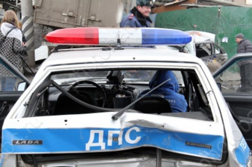 Полицейские открыли огонь по«ГАЗели», протаранившей машину ДПС