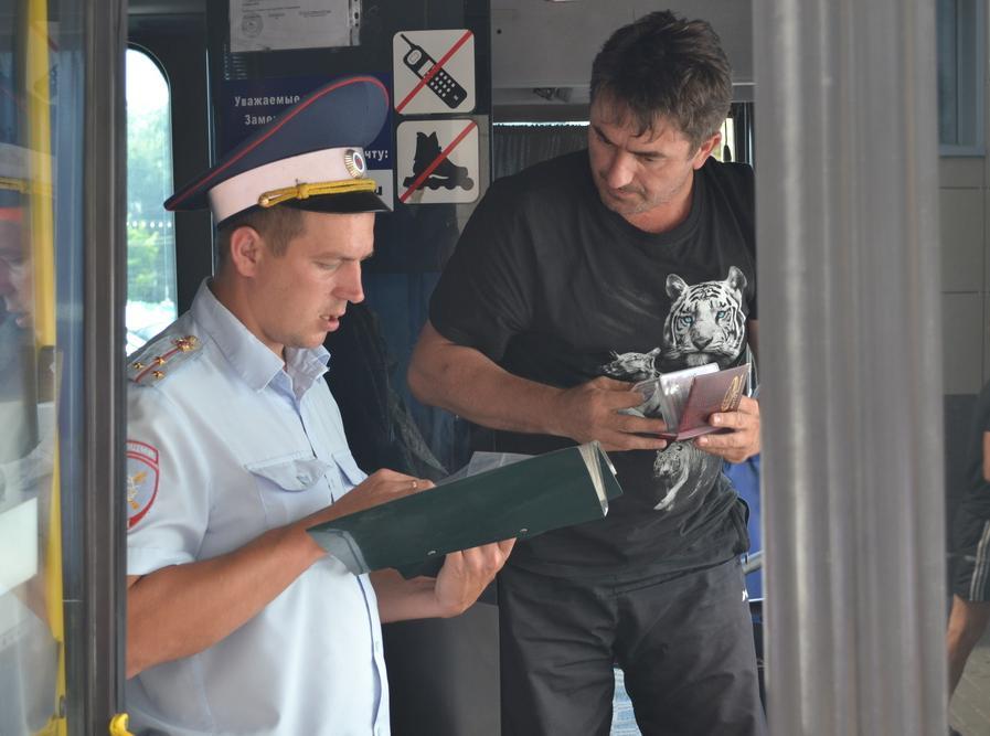 Саратовцы потребованию полицейских оценили качество городского автомобильного транспорта