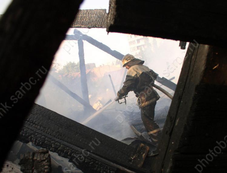 Вбалаковской пятиэтажке напожаре пострадал 34-летний мужчина
